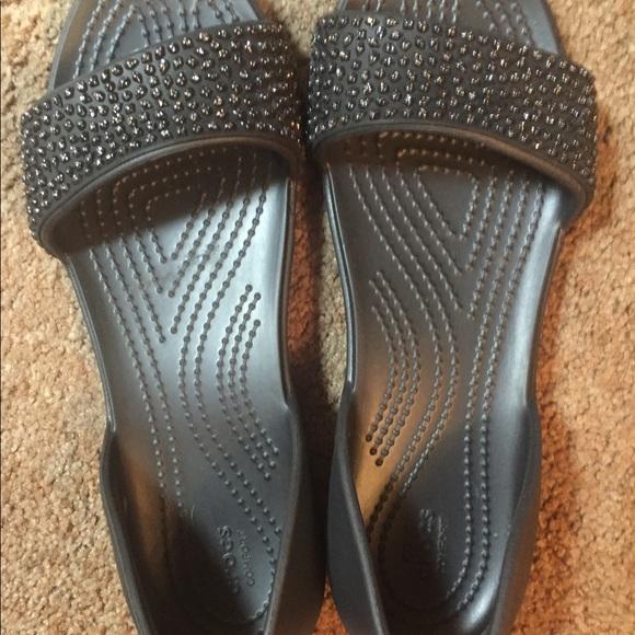 479dbb6208e218 CROCS Shoes - Women s Crocs Lina Embellished D Orsay Flat